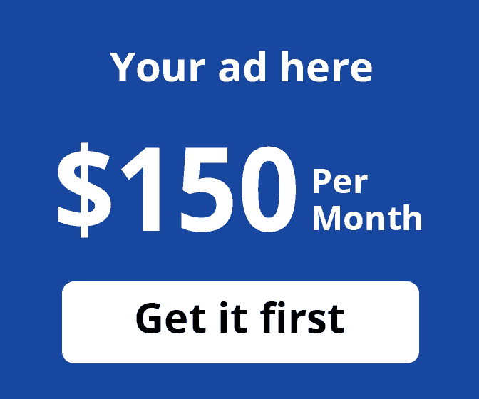 Your ad here: $40. Get it first.