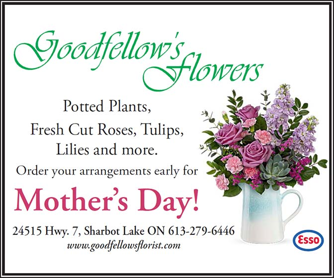 Goodfellow's Flowers - Order your arrangements early for Mother's Day!