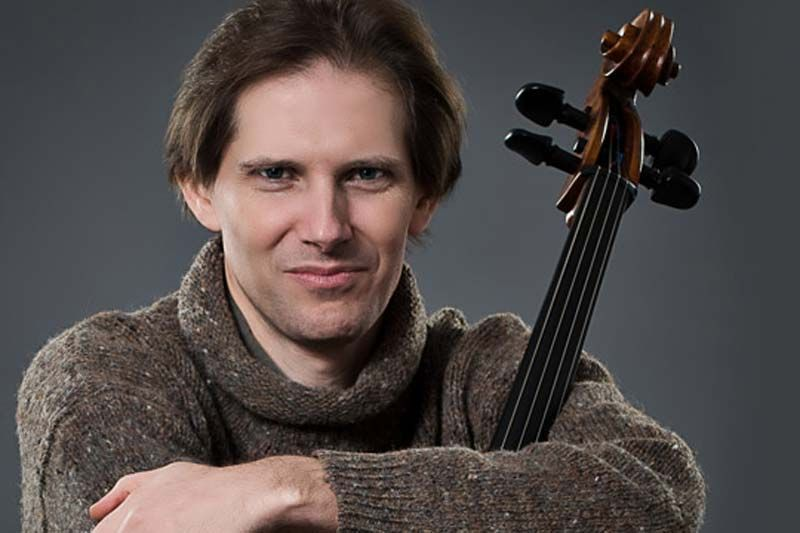 Classical cellist Paul Marleyn will perform at MERA on September 10th