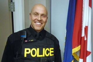 Const. Curtis Dick, community safety officer