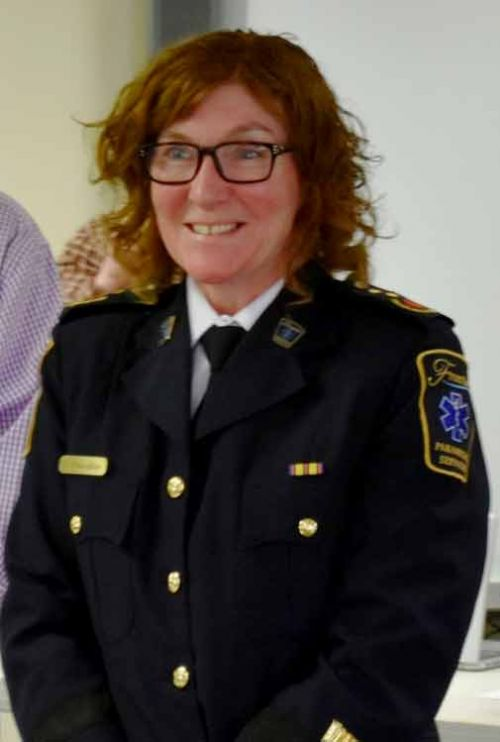 Chief Designate of Frontenadc Paramedic Services Gale Chevalier