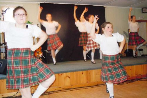 Highland dancers from Shaw's Dance performed a number of Scottish dances at the ABC Hall's first-ever Celtic Celebration.