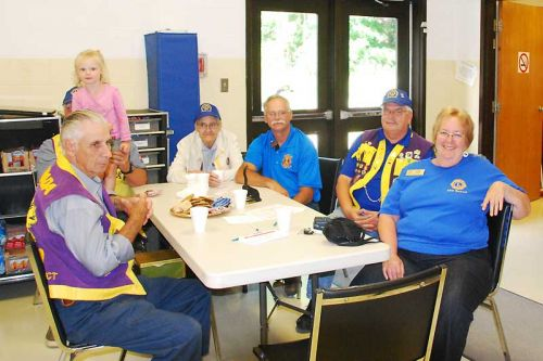 Photo: Sharbot Lake & District Lions at their recent blood donor clinic