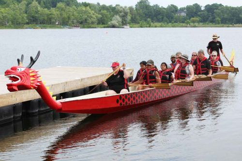 The Kingston Dragon Boat club only does one festival per year that isn't specifically related to