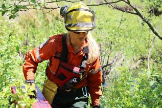Sydenham woman among those fighting Ontario wildfires for MNR-F