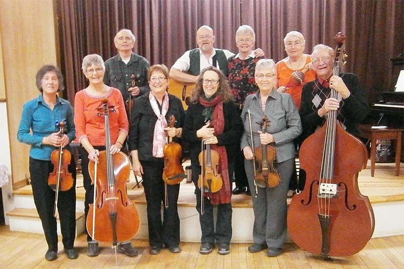 Fiddlers and Friends Return to Ompah