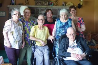 Staff & residents of Countryview Care Retirement Home.