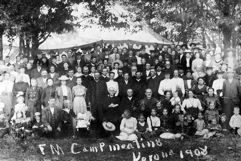 Free methodist Committee – Free Methodist Camp Meeting, Verona 1908.