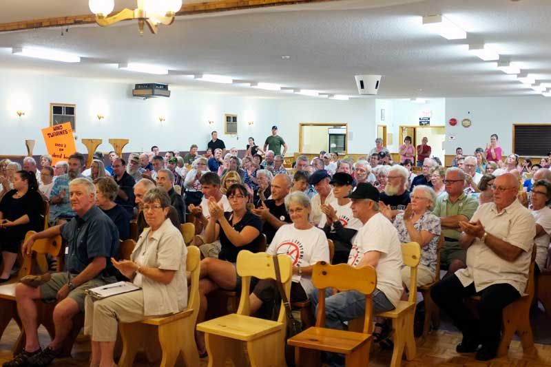 Addington Highlands turns out for the vote on wind turbines