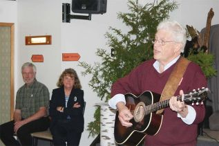 Neville Wells at the Lodges: Past and Present celebration at Clar-Mill Hall in Plevna last Saturday.